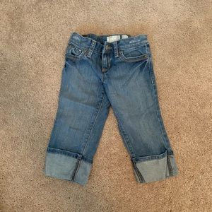 Old navy pedal pusher jeans